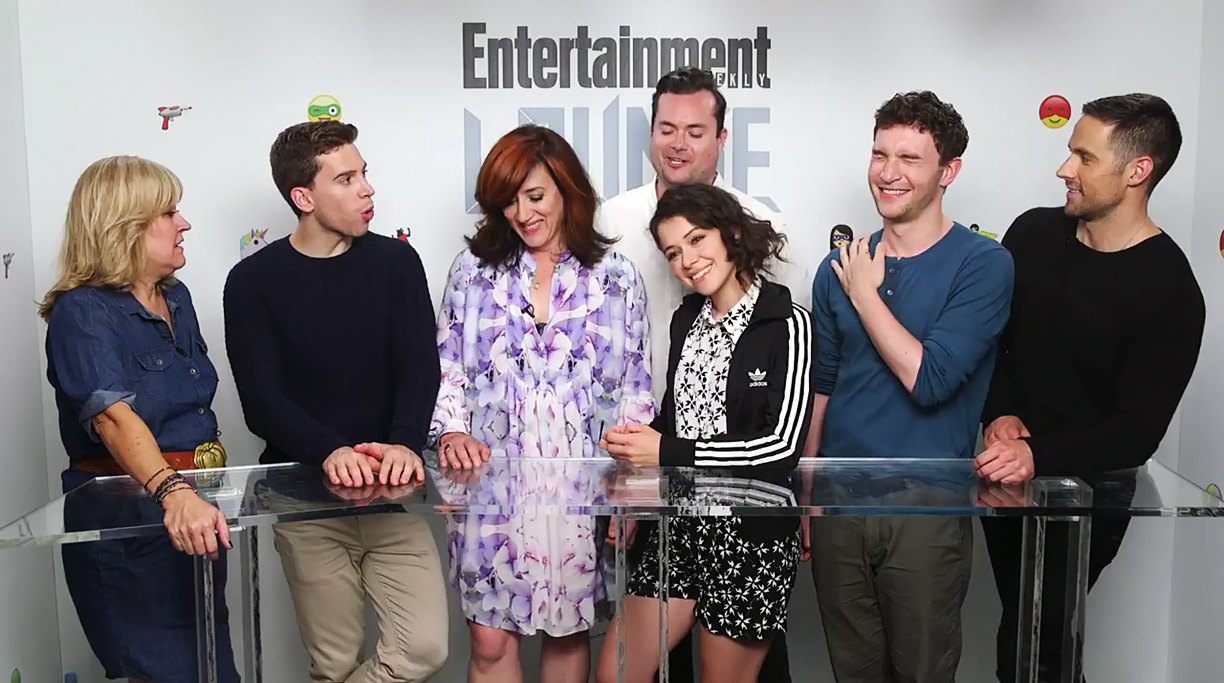Orphan Black Cast And Crew Steal The Show At Comic Con Tv