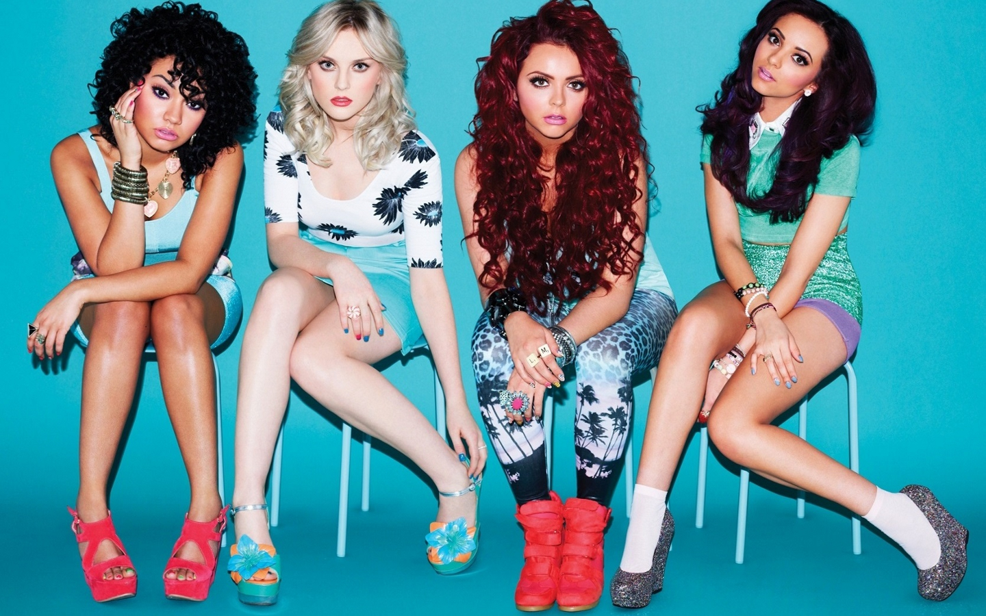 Little Mix Score Third UK #1 Single With 'Black Magic