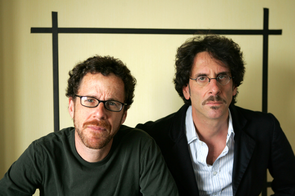 """Filmakers Ethan Coen, left and Joel Coen, pose for a portrait while promoting their new movie """"No Country For Old Men,"""" at the Four Seasons Hotel in Los Angeles, Sunday, Nov. 4, 2007. (AP Photo/Stefano Paltera)"""