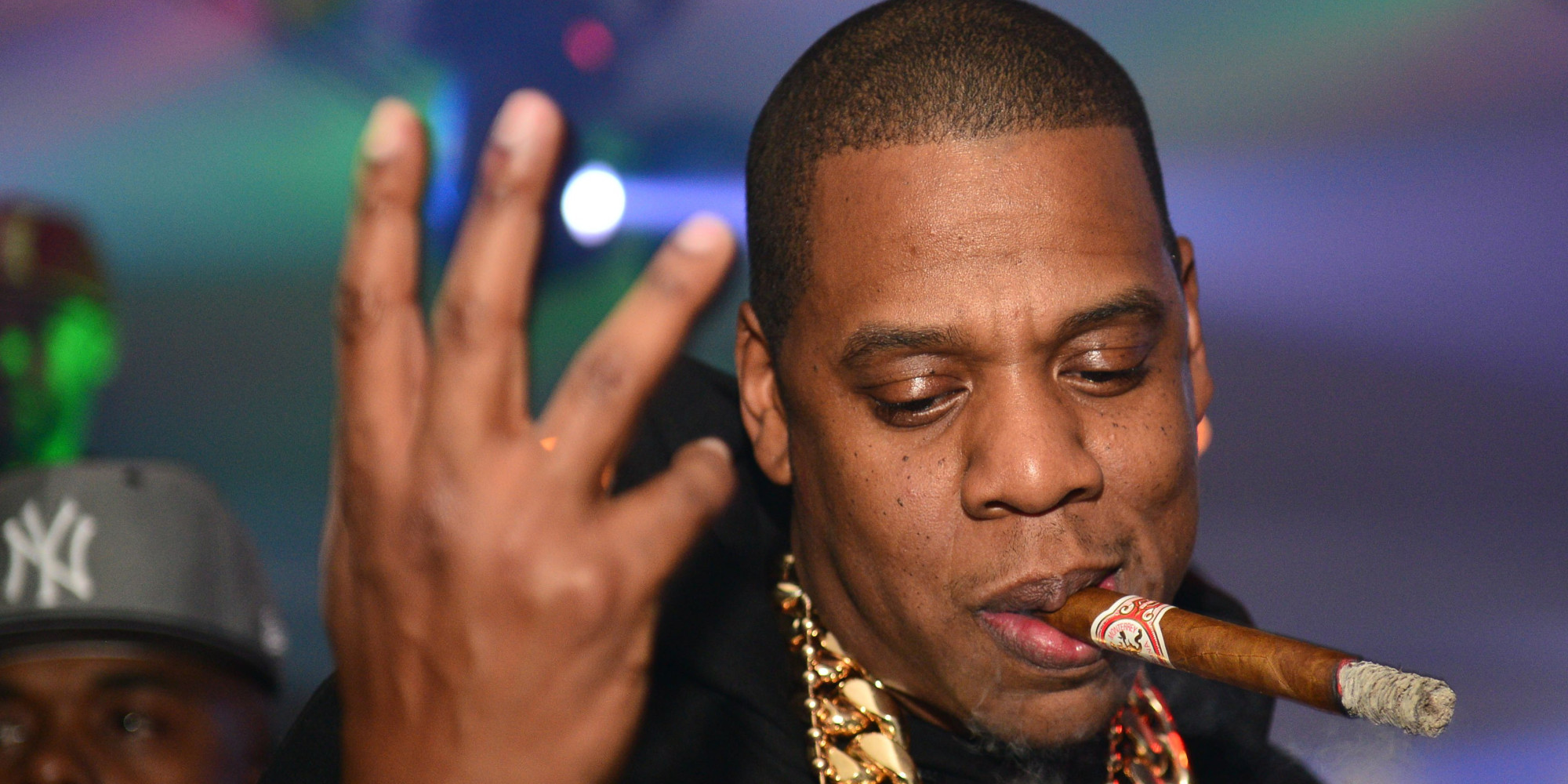 ATLANTA, GA - FEBRUARY 23: Jay-Z attends the So So Def anniversary party hosted by Jay Z at Compound on February 23, 2013 in Atlanta, Georgia. (Photo by Prince Williams/Getty Images)