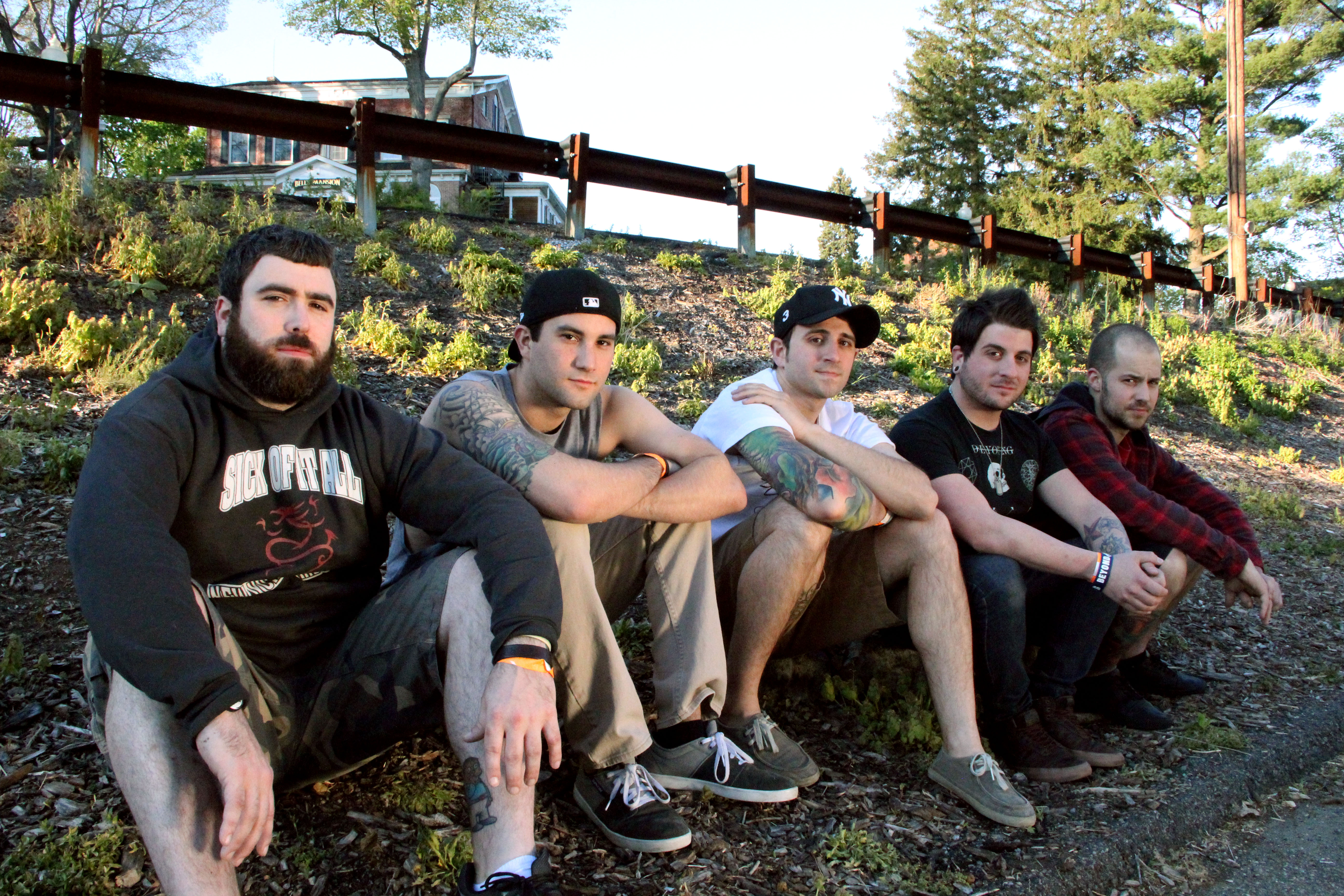 With-The-Punches-Doghouse-Records-2012-Promo-Photo
