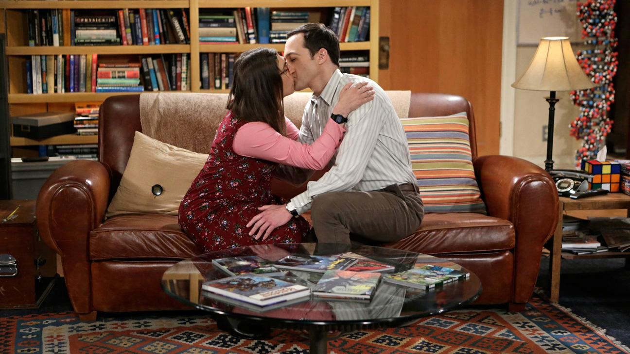 """The Commitment Determination"" --  Sheldon (Jim Parsons, right) pushes Leonard and Penny to choose a date for their wedding and deals with dramatic changes in his own relationship with Amy (Mayim Bialik, left), on THE BIG BANG THEORY, Thursday, May 7 (8:00-8:31 PM, ET/PT), on the CBS Television Network. Photo: Sonja Flemming/CBS ©2015 CBS Broadcasting, Inc. All Rights Reserved"