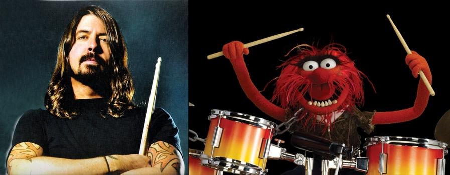 Dave Grohl and Animal