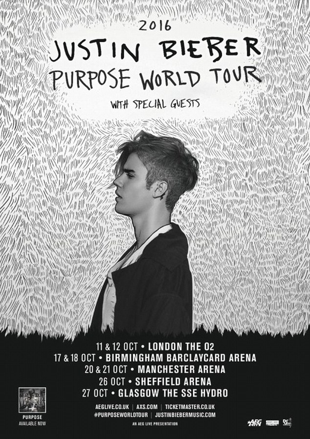 Justin Bieber Purpose Live