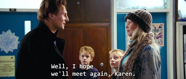 Love Actually Karen