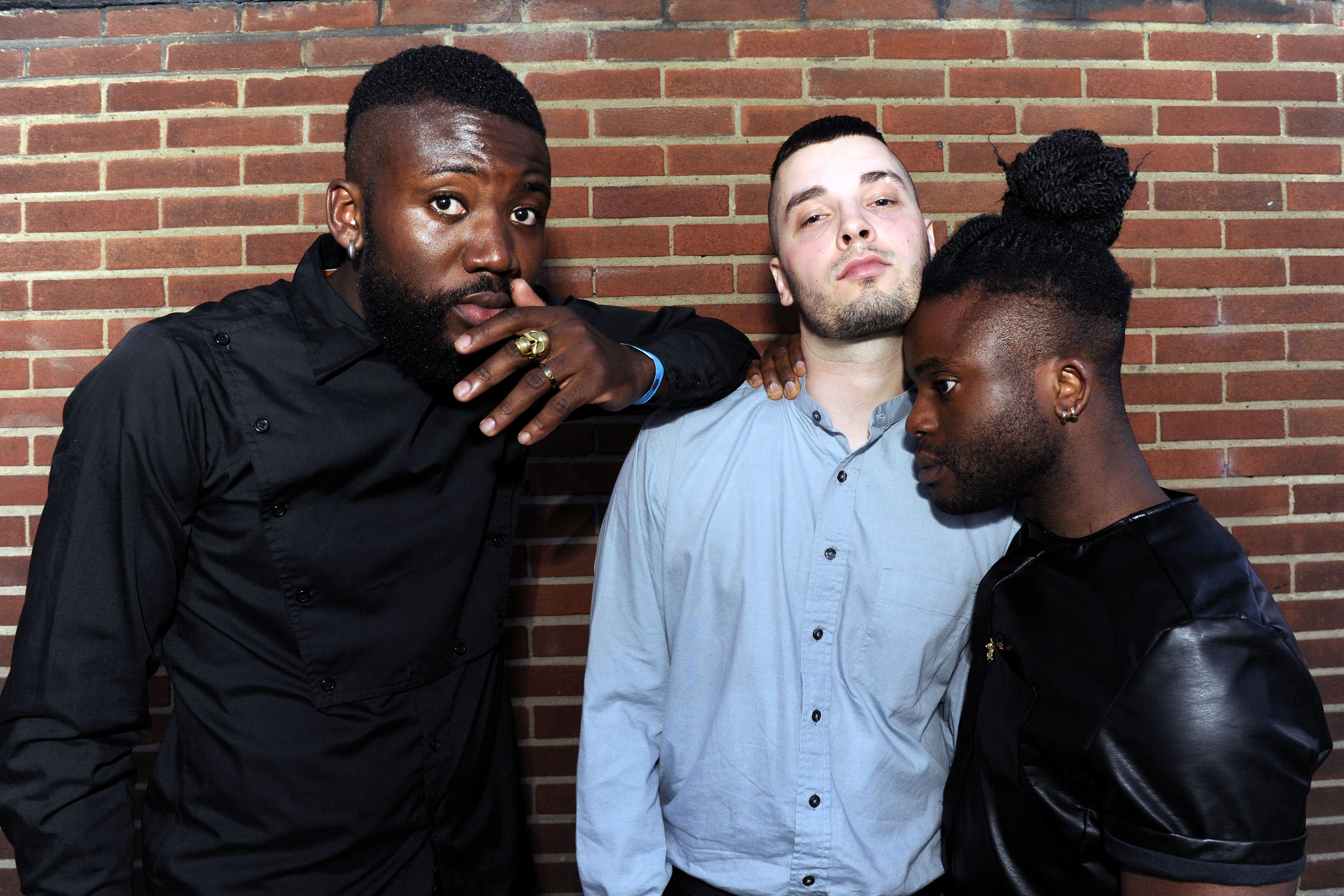 "NO BROADCAST/ONLINE USE BEFORE 1pm. Scottish album of the year awards. Winners Young Fathers. See SWNS story SWNOISE; Newly-crowned Mercury Music Prize winners Young Fathers yesterday (Tues) slammed their home city's stringent noise policy for stifling creativity. The experimental hip-hop trio, who hail from Edinburgh, said artists were finding it tough to prosper in the city. Band member Graham Hastings said: ""They shut down anything if you try to make noise. I've been in studios where these guys come with meters and tell you to get out."