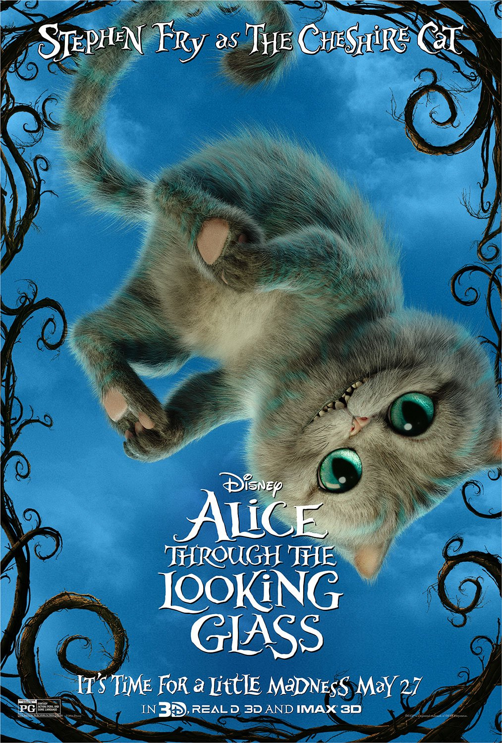 Alice Through The Looking Glass Character Poster 2