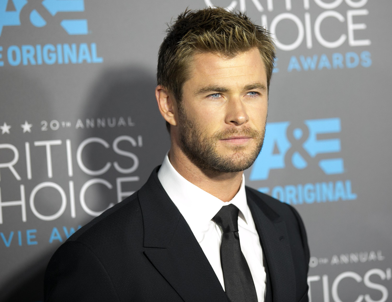 20th Annual Critics' Choice Movie Awards at Hollywood Palladium - Arrivals Featuring: Chris Hemsworth Where: Los Angeles, California, United States When: 15 Jan 2015 Credit: Brian To/WENN.com
