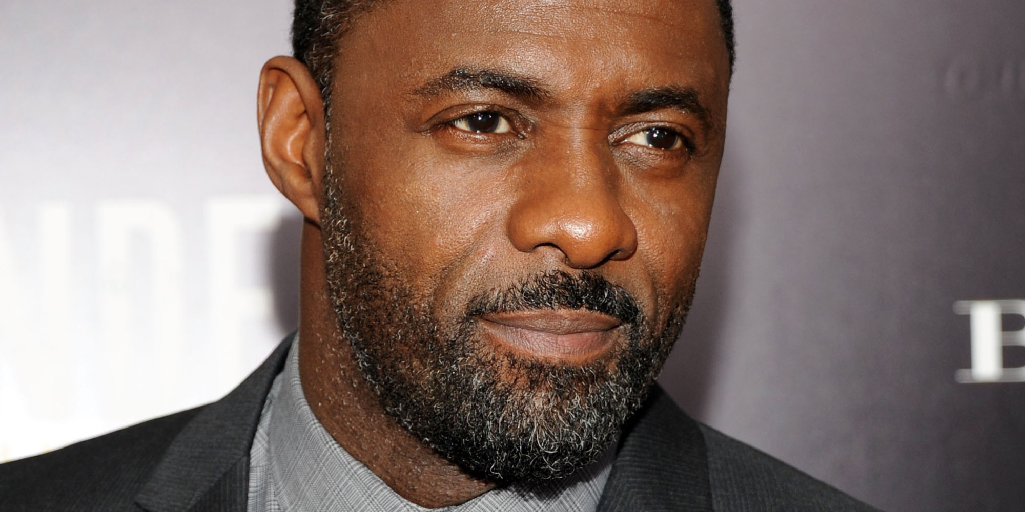 """NEW YORK, NY - NOVEMBER 25: Actor Idris Elba attends the screening of """"Mandela: Long Walk to Freedom"""", hosted by U2, Anna Wintour and Bob & Harvey Weinstein, with Burberry at the Ziegfeld Theater on November 25, 2013 in New York City. (Photo by Ben Gabbe/FilmMagic)"""