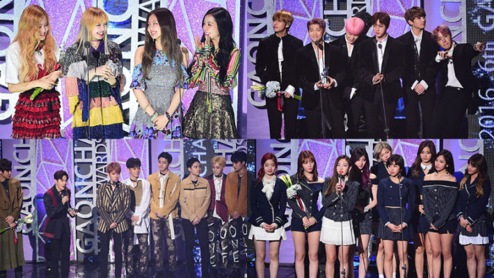 Winners From The 6th Gaon Chart Music Awards | Music News ...