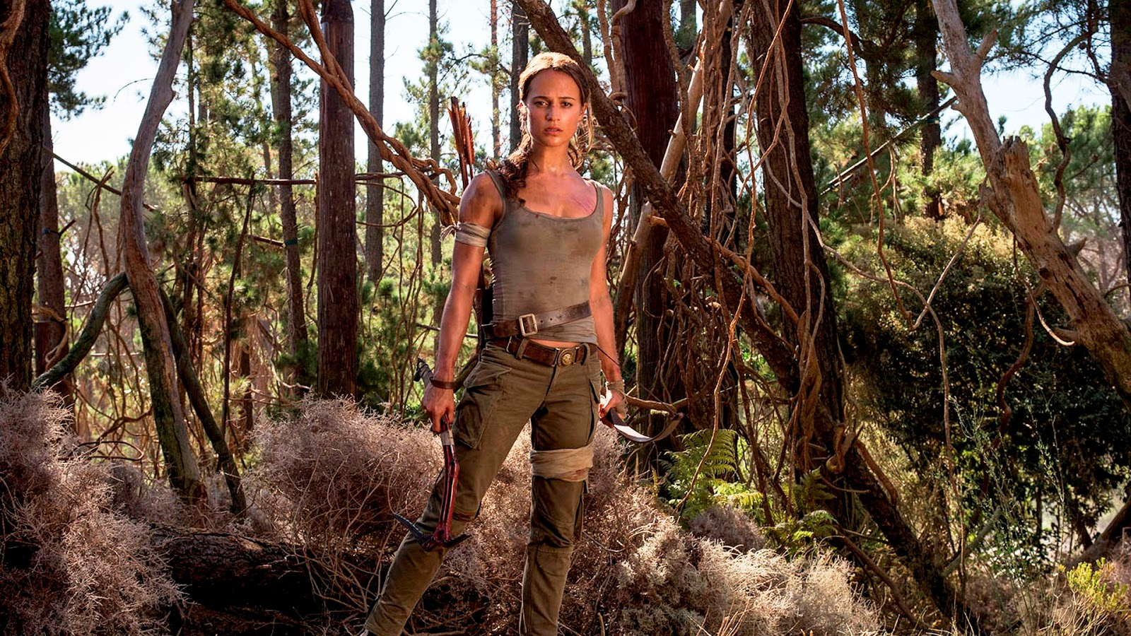 Tomb Raider Unveils Its First Official Trailer Film Trailer