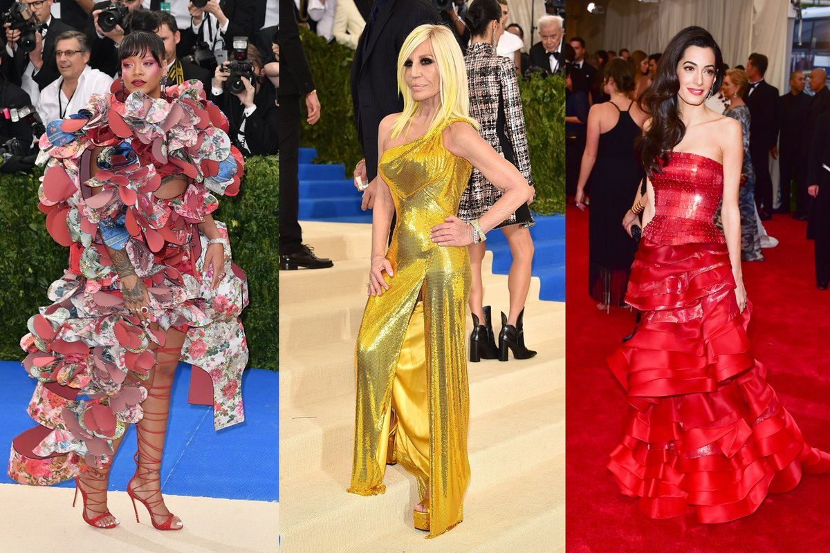 Amal Clooney, Rihanna And Donatella Versace To Host Met Gala