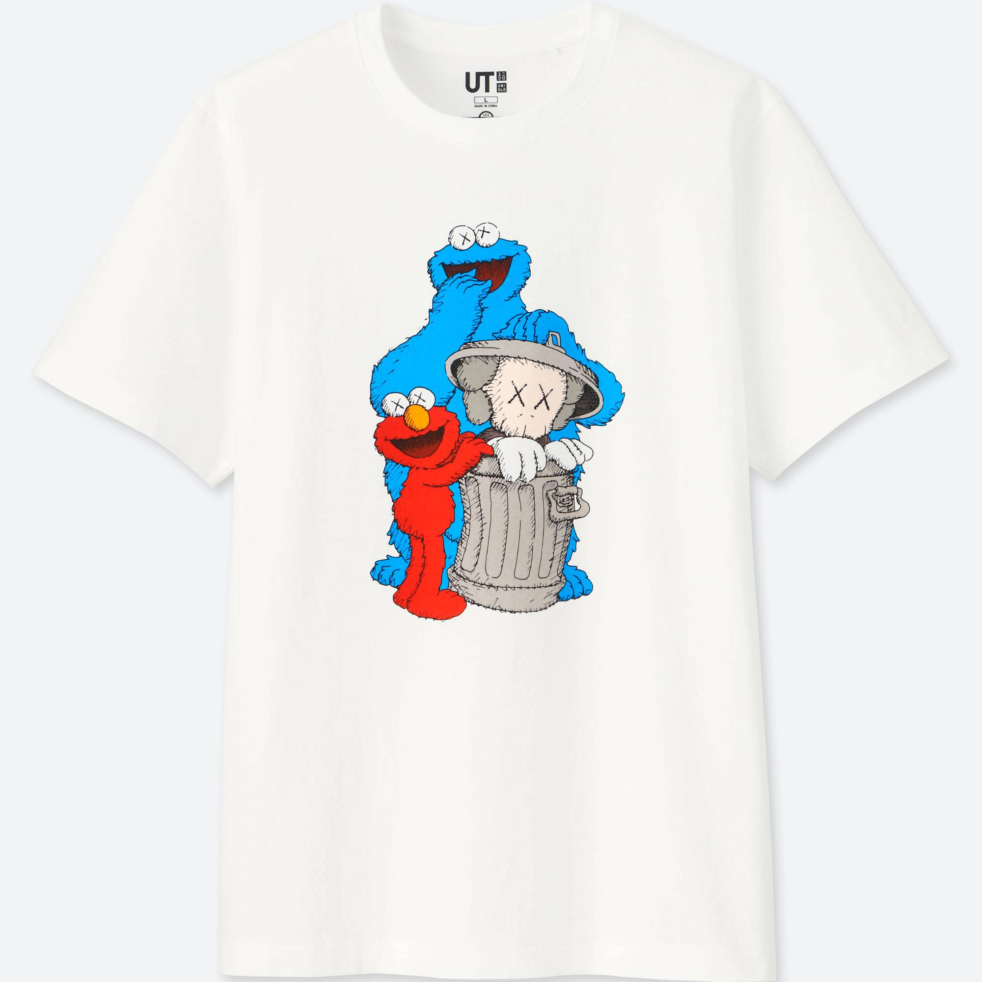 UNIQLO UT Joins With KAWS And Sesame Street For New