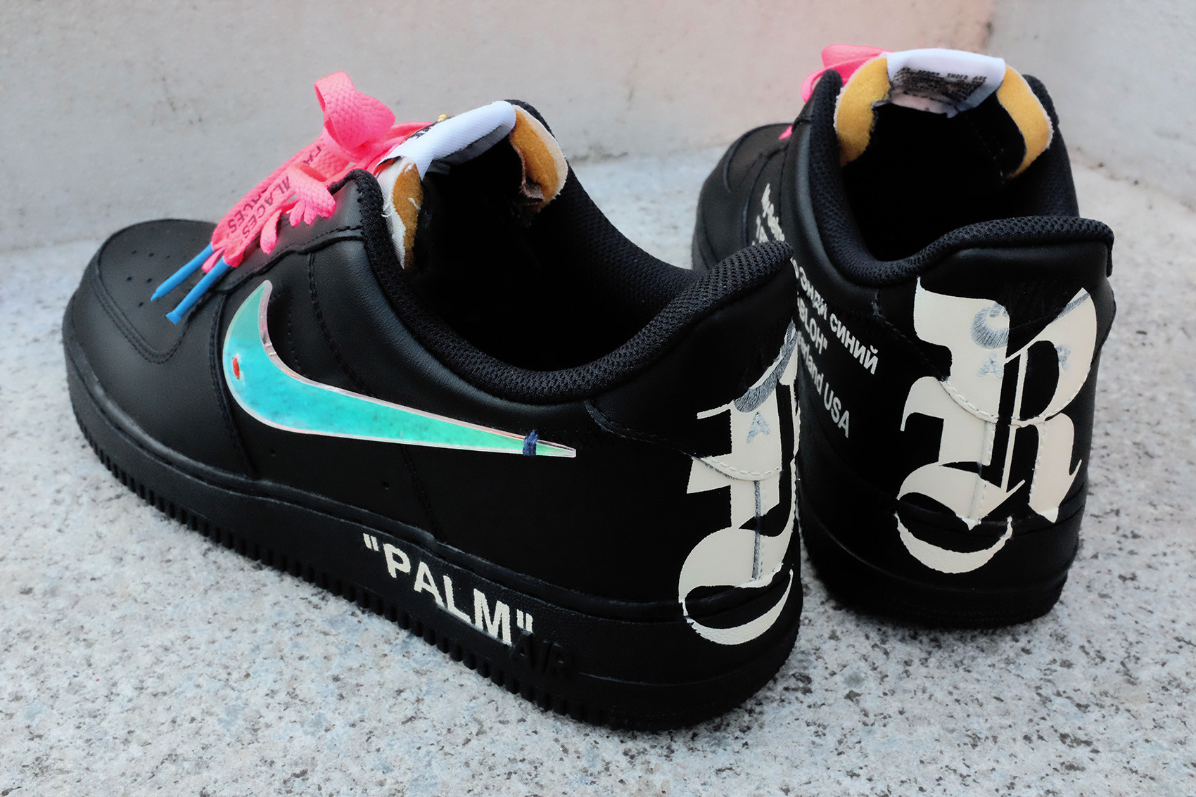 Palm Angels Joins With Nike To Redesign The Air Force 1