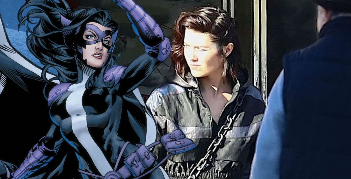 Birds Of Prey Set Photos Leaked Give Best Visuals Of Huntress Costume Film News Conversations About Her