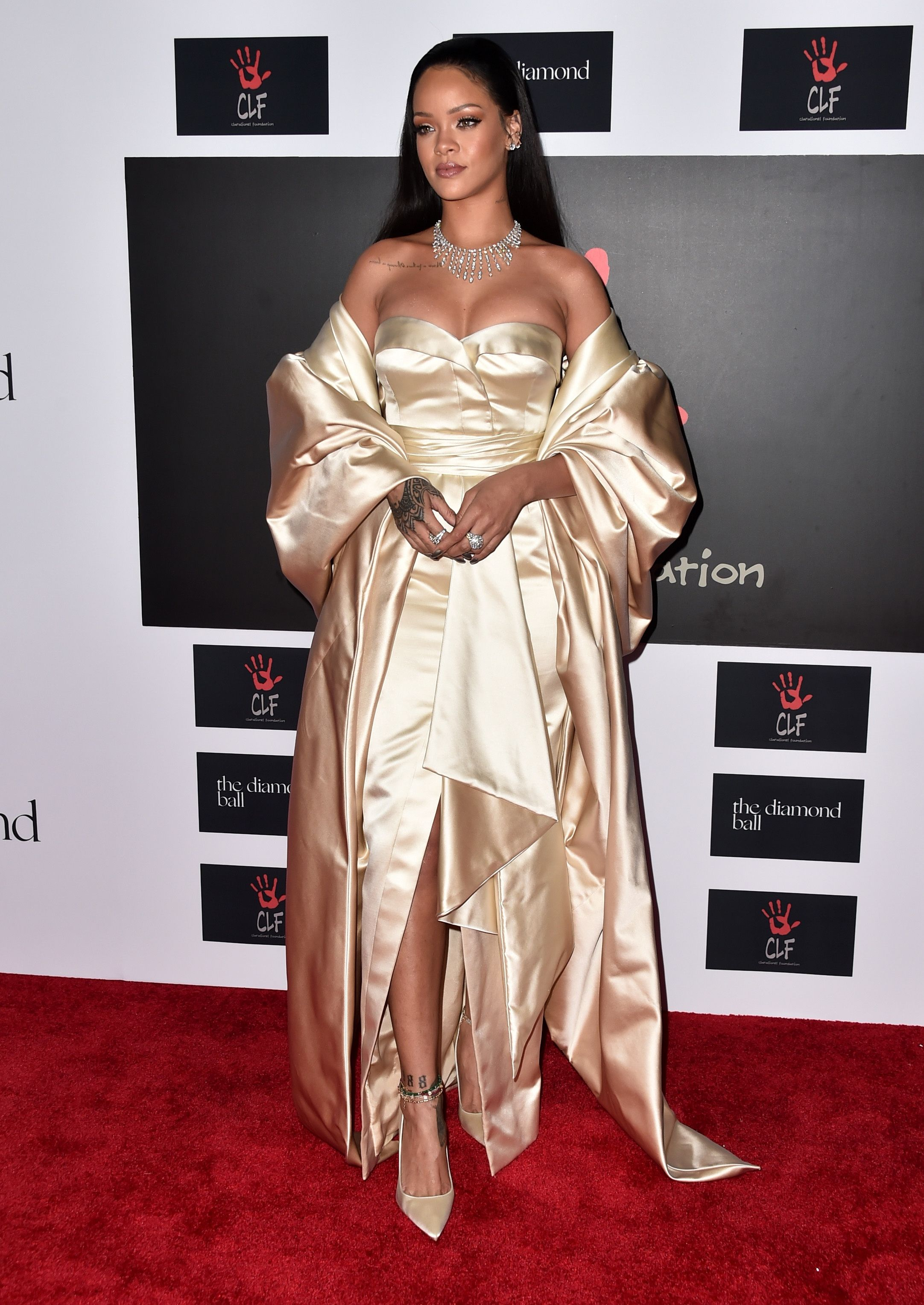 The Best Of Rihanna's Red Carpet Looks To Celebrate Her ...