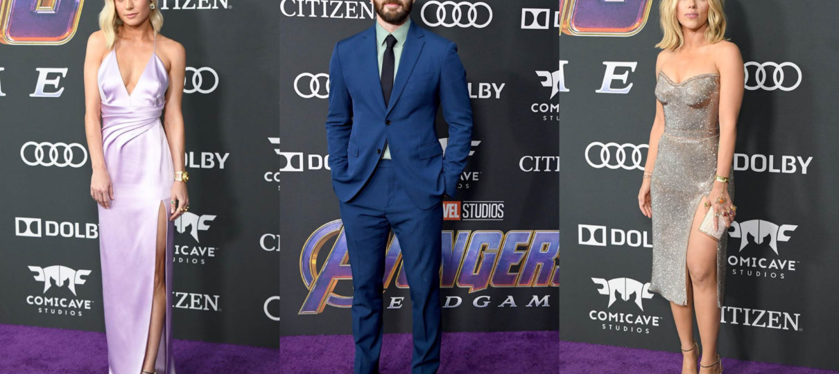 Best Red Carpet Looks From The 'Avengers: Endgame' Premiere | Fashion News